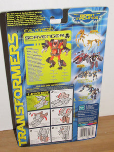 Transformers Beast Machines Basic Class Vehicon Scavenger