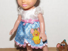 "Load image into Gallery viewer, Tollytots Ltd My First Disney Princess Petite Cinderella & Gus Gus 6"" Doll"