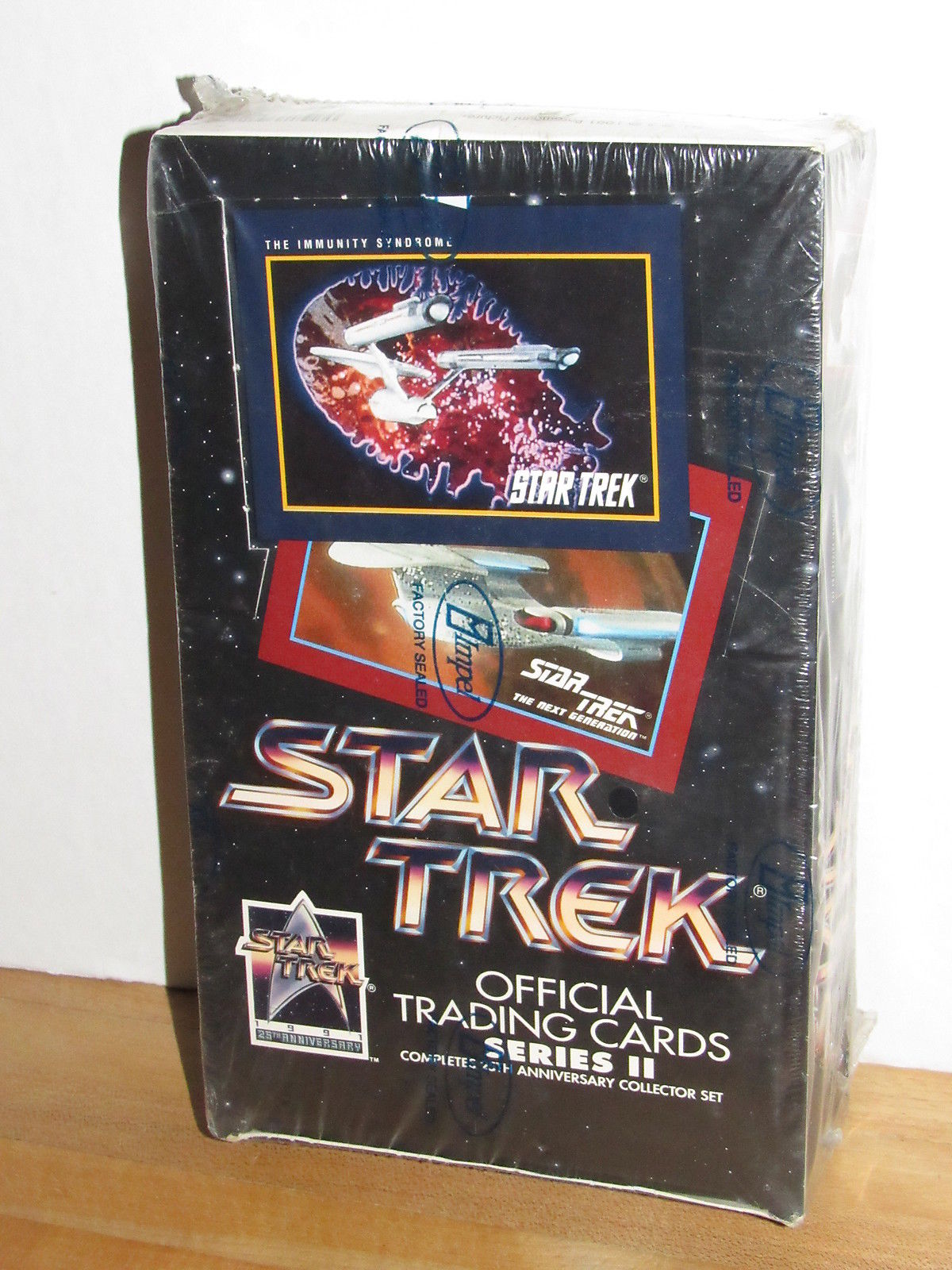 Losse kaarten Star Trek 25th Anni Series II Sealed Trading Card Box