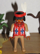 Load image into Gallery viewer, Playmobil 3731 Indian with Buffalo