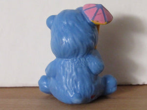 Kenner Care Bears Grumpy Bear Trying Not to Get Wet Miniature Figurine