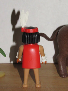 Playmobil 3731 Indian with Buffalo