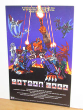 "Load image into Gallery viewer, Transformers Beast Wars BotCon 2000 11 x 17"" Poster (3H Archive)"