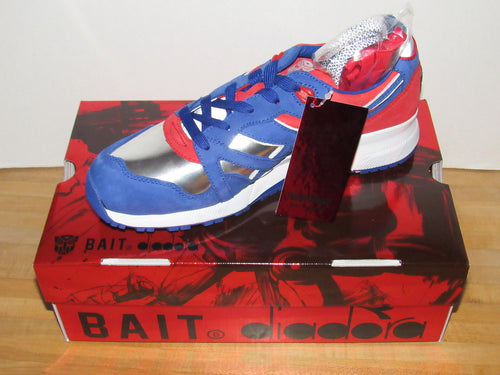 BAIT x Diadora N9000 Transformers Optimus Prime Sneakers (US Men's Size 10)