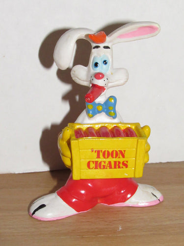 Disney Who Framed Roger Rabbit? Roger with Toon Cigars PVC Figurine