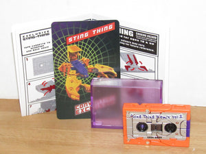 Keith's Fantasy Club Sting Thing Transforming Cassette