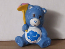Load image into Gallery viewer, Kenner Care Bears Grumpy Bear Trying Not to Get Wet Miniature Figurine