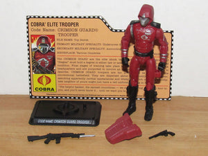 GI Joe 25th Anniversary Crimson Guard Toys R Us Exclusive