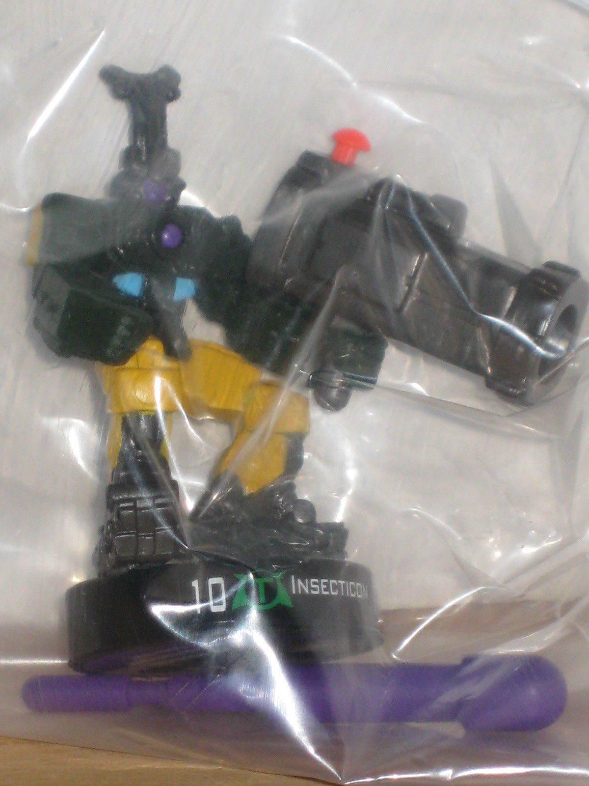 Transformers Attacktix Energon Insecticon Complete MIB MISB new sealed