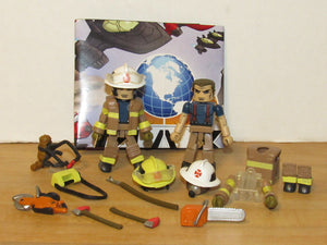Minimates MAX Elite Heroes Smoke Jumpers Fire Chief