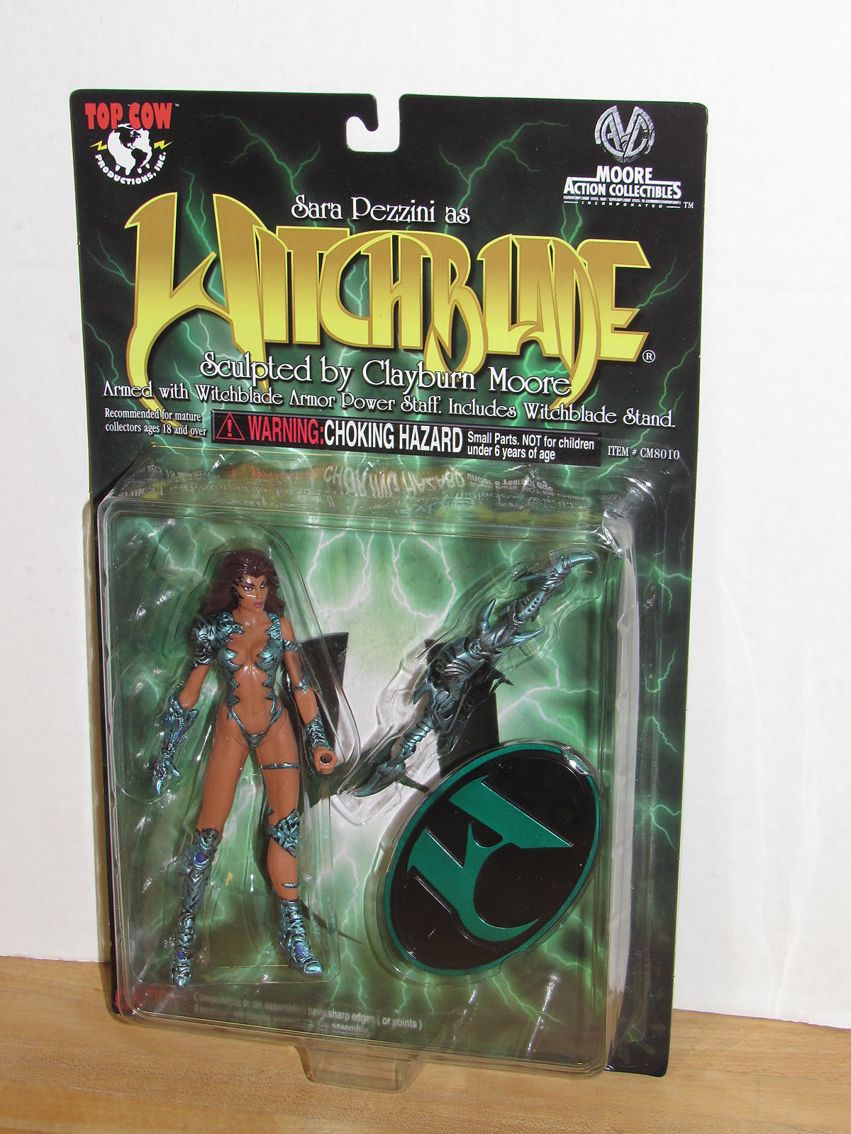 Moore Action Collectibles Top Cow Witchblade Sara Pezzini