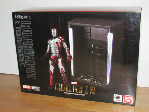 Bandai S.H.Figuarts Iron Man 2 Iron Man Mark V Hall of Armor Set