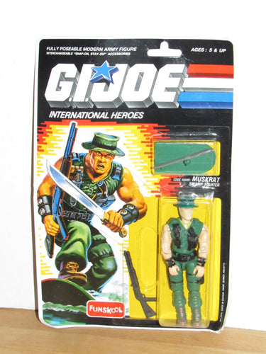 Funskool GI Joe International Heroes Muskrat MOC