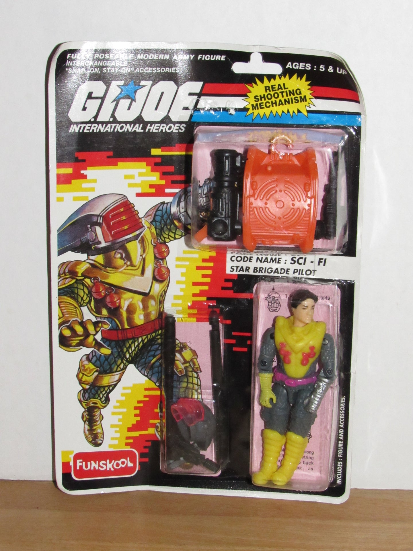 Funskool GI Joe International Heroes Star Brigade Sci-Fi MOC