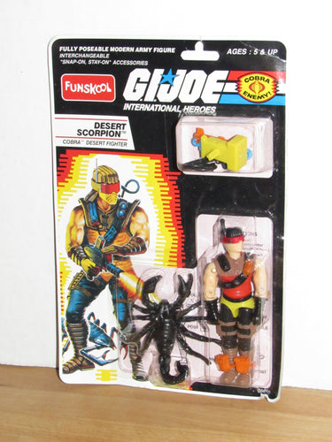 Funskool GI Joe International Heroes Desert Scorpion MOC