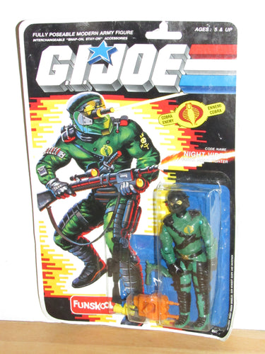 Funskool GI Joe International Heroes Night-Viper MOC
