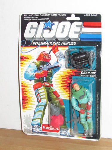 Funskool GI Joe International Heroes Deep Six MOC