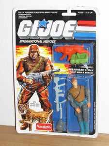 Funskool GI Joe International Heroes Spearhead & Max MOC