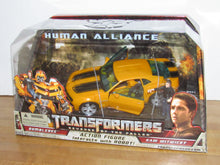 Load image into Gallery viewer, Transformers Revenge of the Fallen Human Alliance Bumblebee & Sam Witwicky