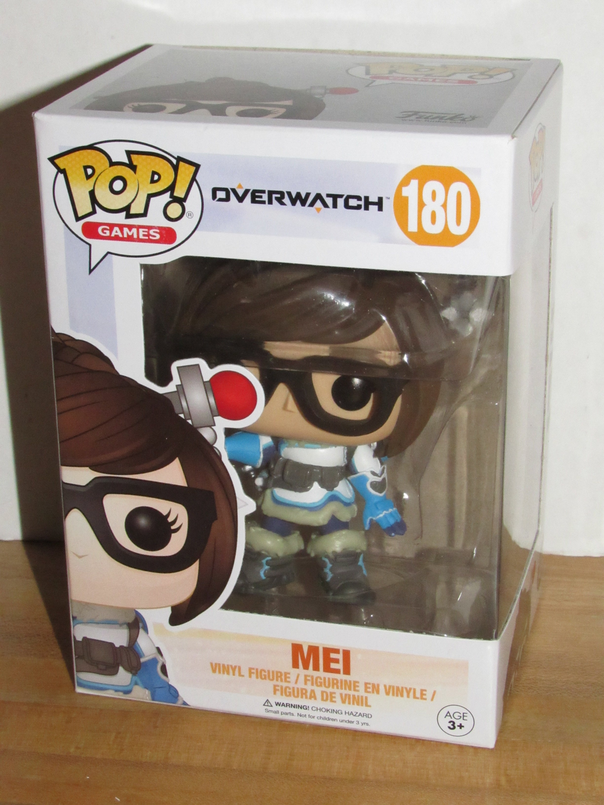 POP Mei Vinyl Figure Funko Games #180 Overwatch