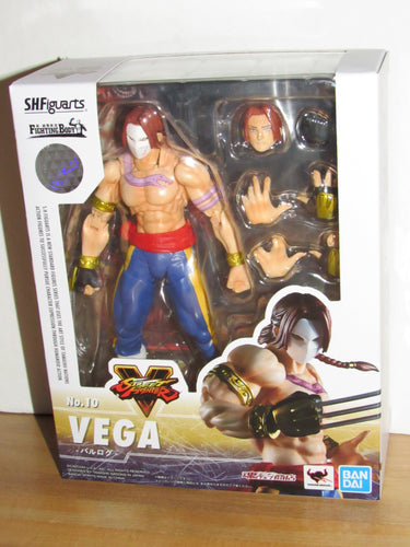 Bandai S.H.Figuarts Street Fighter No.10 Vega