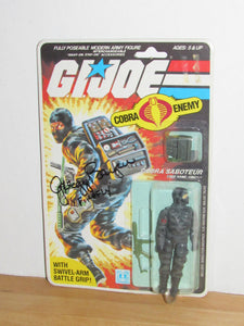 GI Joe Firefly V1 MOC SIGNED by Gregg Berger