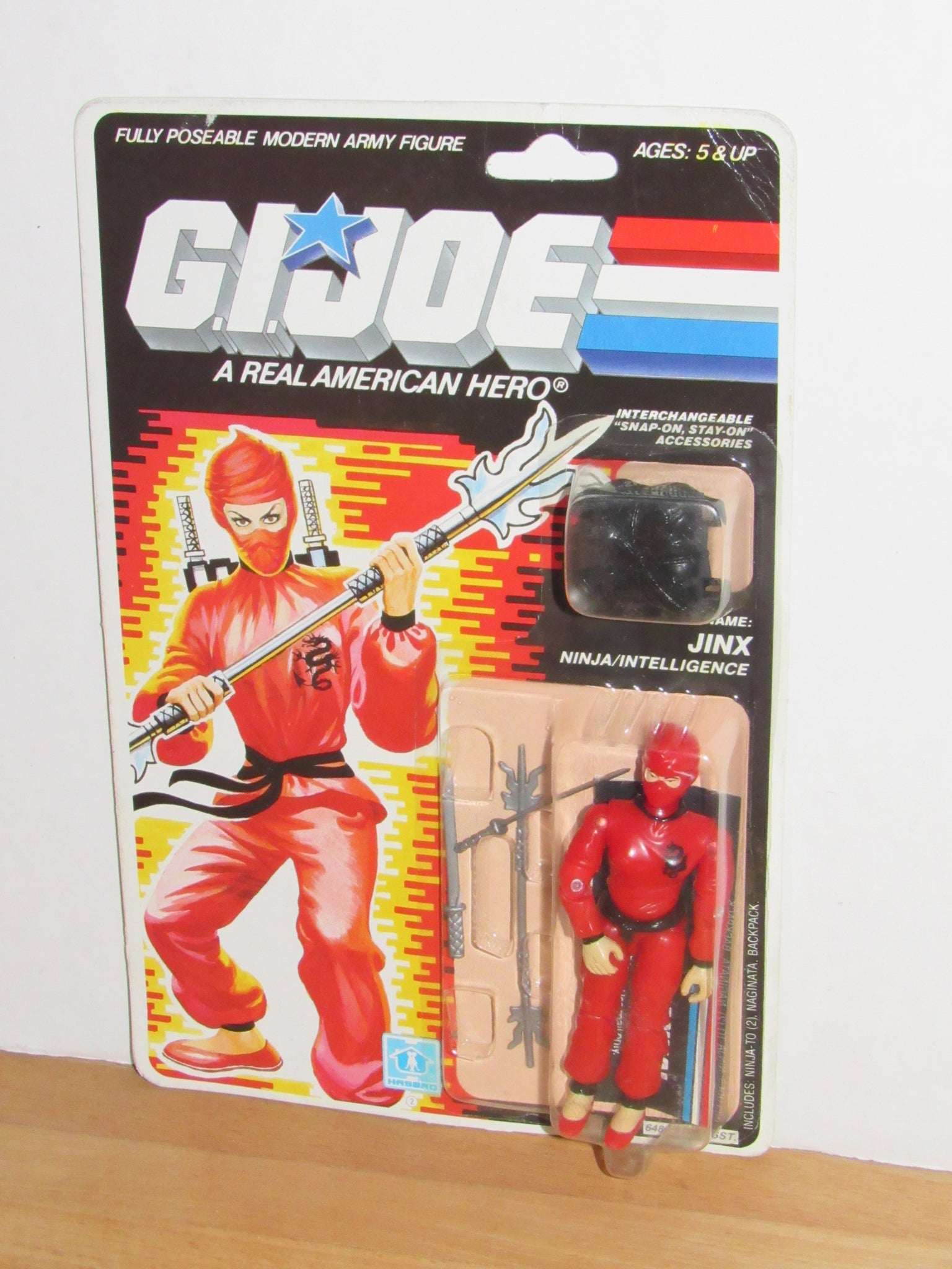 V1 Naginata 1987 GI JOE Jinx