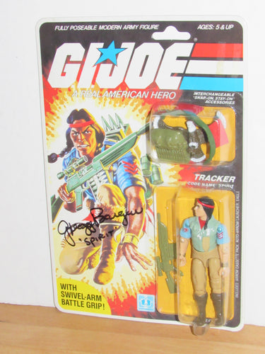GI Joe Spirit V1 MOC SIGNED by Gregg Berger