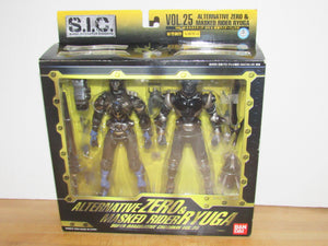Bandai S.I.C. Super Imaginative Chogokin Vol. 25 Alternative Zero & Kamen Rider Ryuga