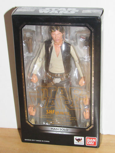 Bandai S.H.Figuarts Star Wars A New Hope Han Solo