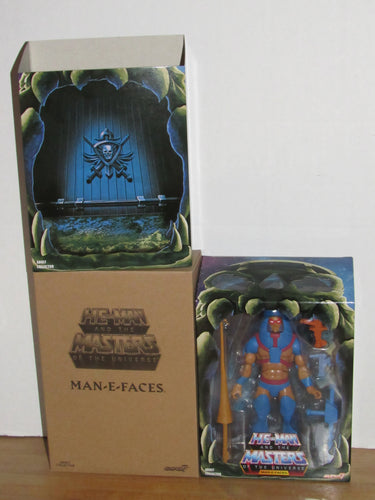 Super7 He-Man Masters of the Universe Classics Club Grayskull Filmation Man-E-Faces