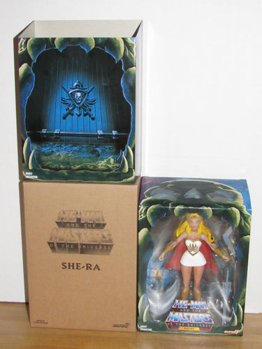 Super7 He-Man Masters of the Universe Classics Club Grayskull Filmation She-Ra