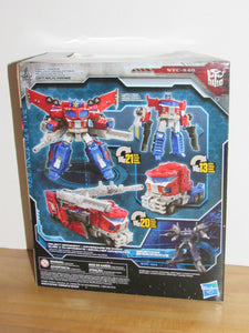 Transformers Generations War for Cybertron Trilogy: Siege Leader Class Galaxy Upgrade Optimus Prime