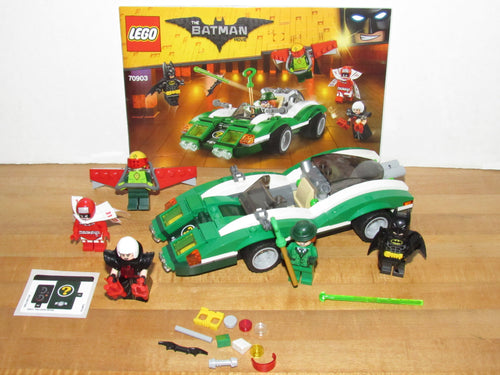 The Lego Batman Movie 70903 The Riddler Riddle Racer