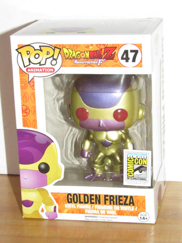 Funko Pop Animation 47 Dragonball Z Resurrection F Golden Frieza (Red Eyes) SDCC 2015