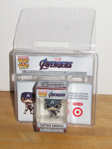 Funko Pocket Pop Keychain Marvel Avengers Endgame Captain America Target Exclusive