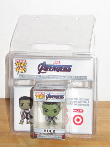 Funko Pocket Pop Keychain Marvel Avengers Endgame Hulk Target Exclusive