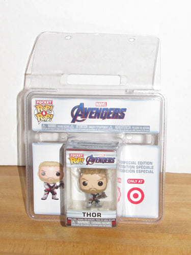 Funko Pocket Pop Keychain Marvel Avengers Endgame Thor Target Exclusive