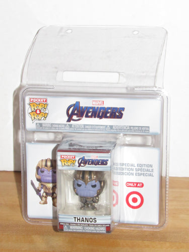 Funko Pocket Pop Keychain Marvel Avengers Endgame Thanos Target Exclusive
