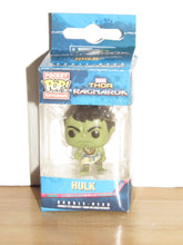 Load image into Gallery viewer, Funko Pocket Pop Keychain Marvel Thor Ragnarok Casual Hulk