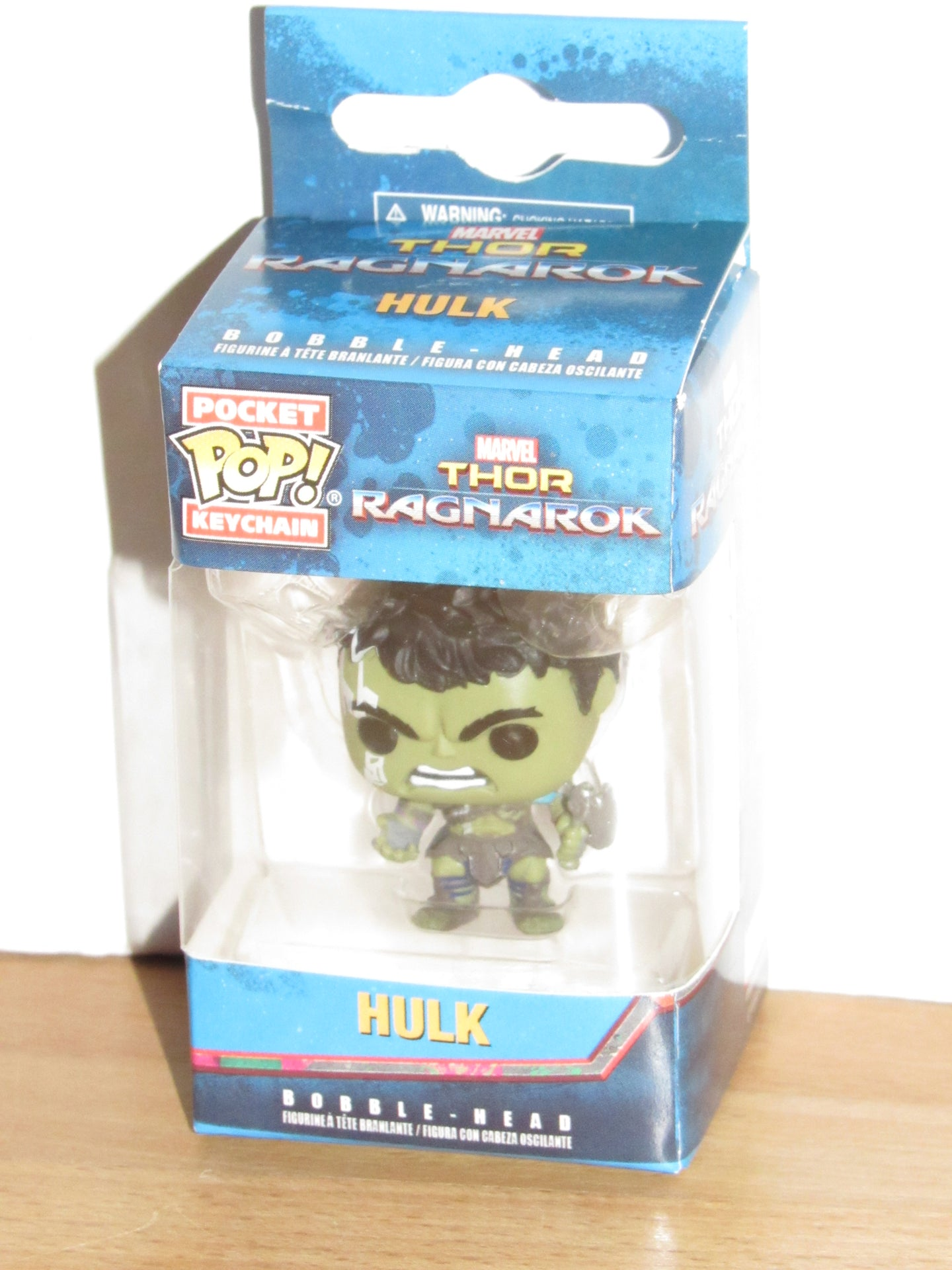 Funko Pocket Pop Keychain Marvel Thor Ragnarok Gladiator Hulk