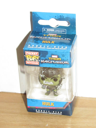 Funko Pocket Pop Keychain Marvel Thor Ragnarok Gladiator Hulk w/ Helmet MCC Exclusive