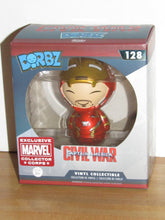 Load image into Gallery viewer, Funko Dorbz 128 Marvel Captain America Civil War Unmasked Iron Man MCC Exclusive