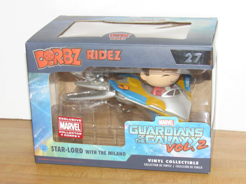 Funko Dorbz Ridez 27 Marvel Guardians of the Galaxy Star-Lord w/ Milano Collector Corps Exclusive
