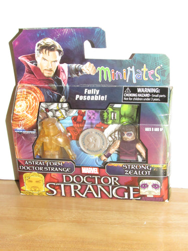 Marvel Minimates Doctor Strange Astral Form Doctor Strange & Strong Zealot