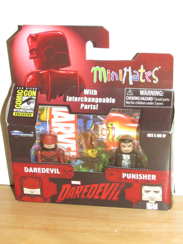 Marvel Minimates SDCC 2016 Exclusive Netflix Daredevil & Punisher