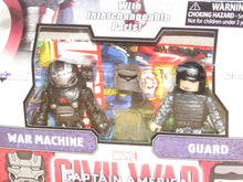 Load image into Gallery viewer, Marvel Minimates Captain America: Civil War War Machine & Guard