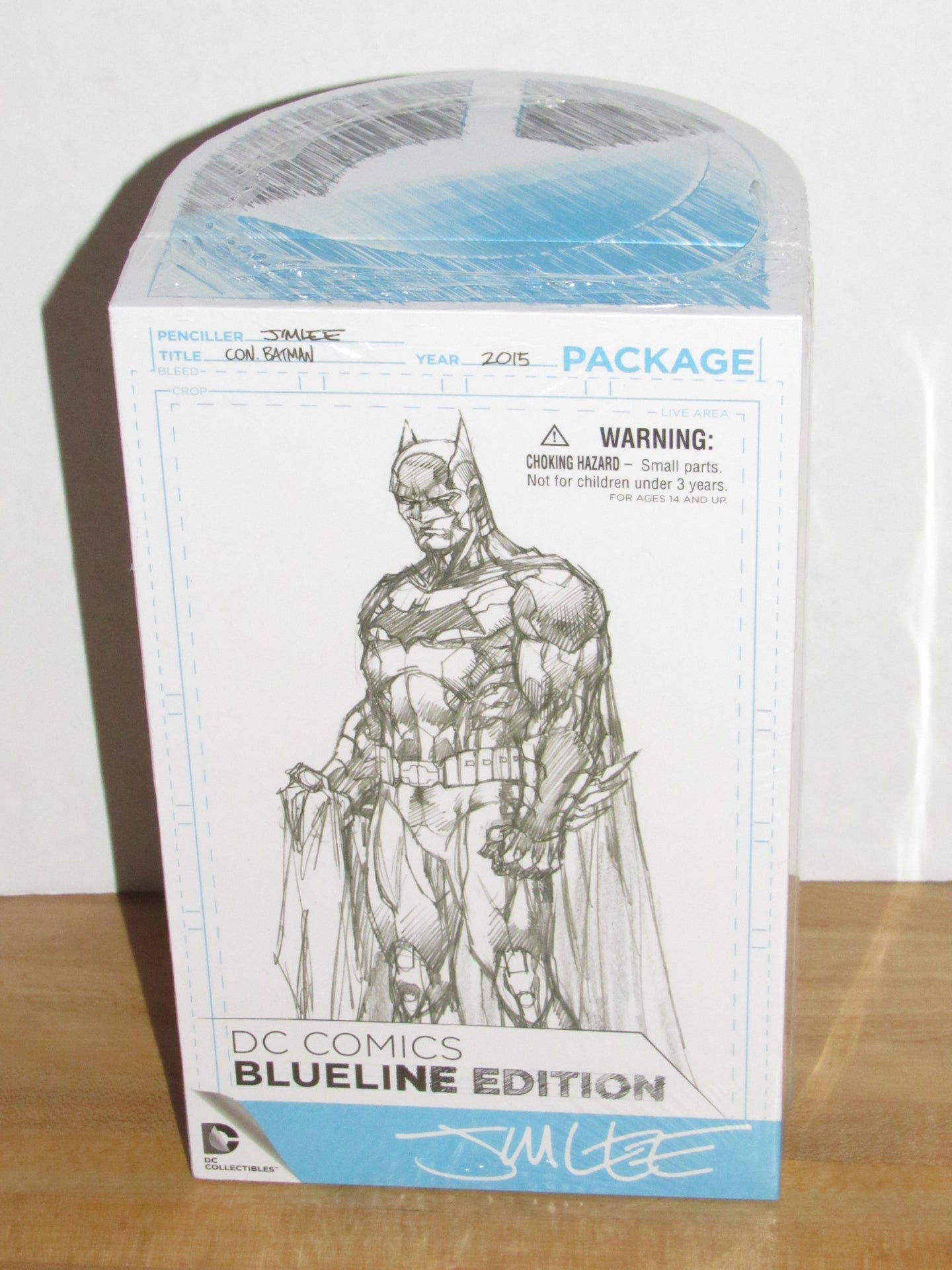 DC Collectibles SDCC 2015 Exclusive Batman Jim Lee Blueline Edition