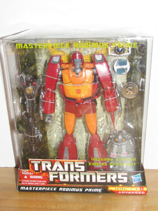 Transformers Masterpiece Rodimus Prime with Offshoot Toys R Us Exclusive