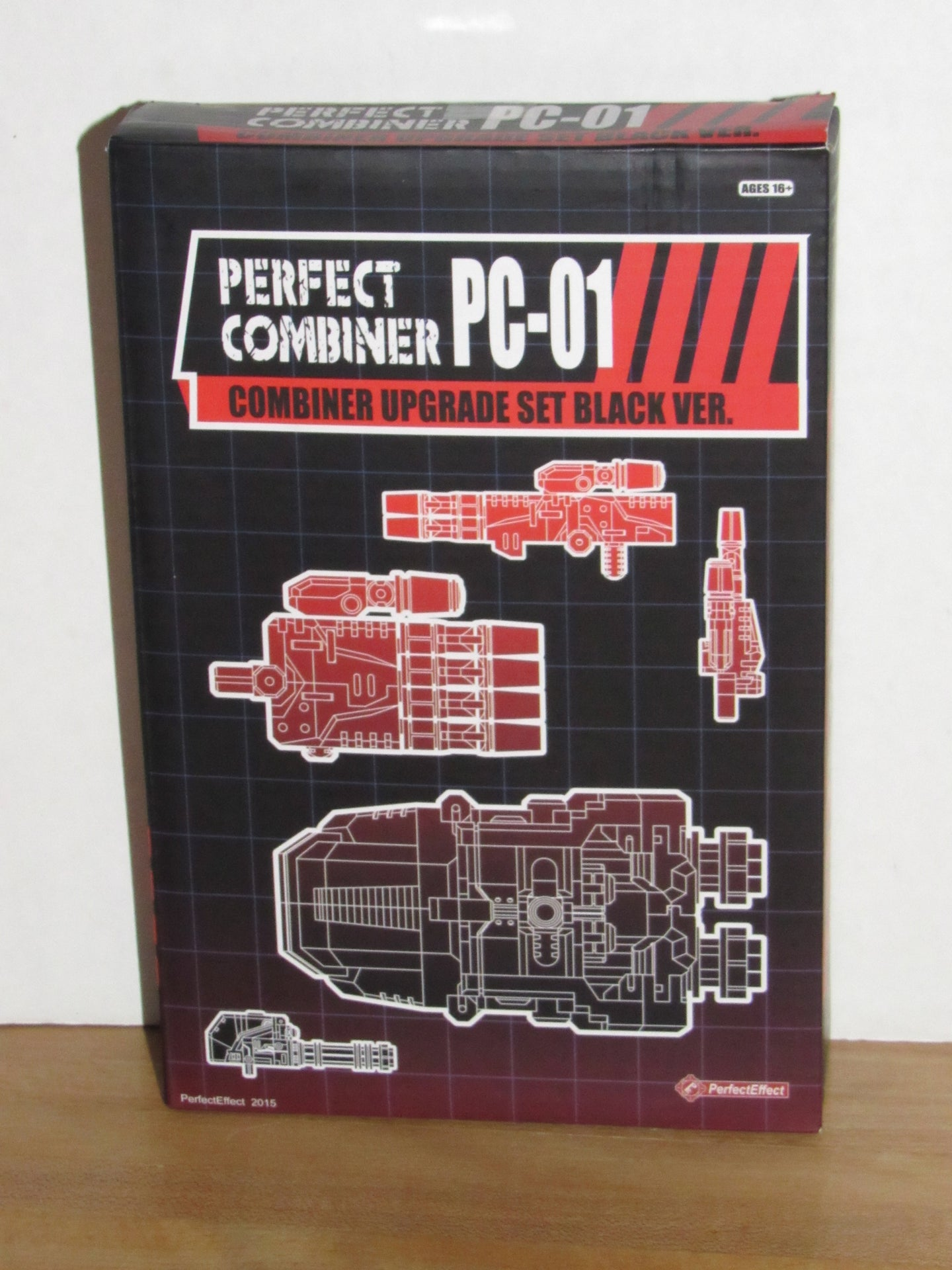 Perfect Effect PC-01 Combiner Upgrade Set (Black Version)